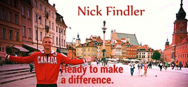 Nick Findler is ready to make a difference.
