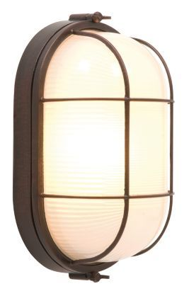 Vema Outdoor Wall Light in Brushed Bronze Effect, 0000003685129