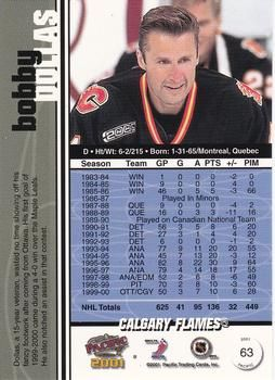 2000-01 Pacific #63 Bobby Dollas Back