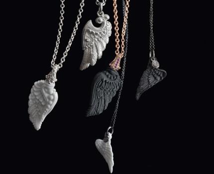 Porcelain wings by Numphenburg Manufactur