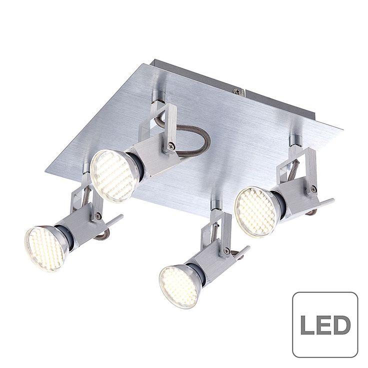 EEK A++, Deckenleuchte Climax - 4-flammig, Globo Lighting Jetzt bestellen unter: https://moebel.ladendirekt.de/lampen/deckenleuchten/deckenlampen/?uid=98f788e6-7292-500d-9431-71f96070e06b&utm_source=pinterest&utm_medium=pin&utm_campaign=boards #deckenleuchten #lampen #innenleuchten #globo #deckenlampen #lighting