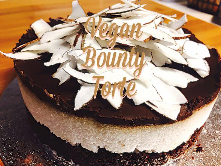 Bounty kuchen mit kokosmilch