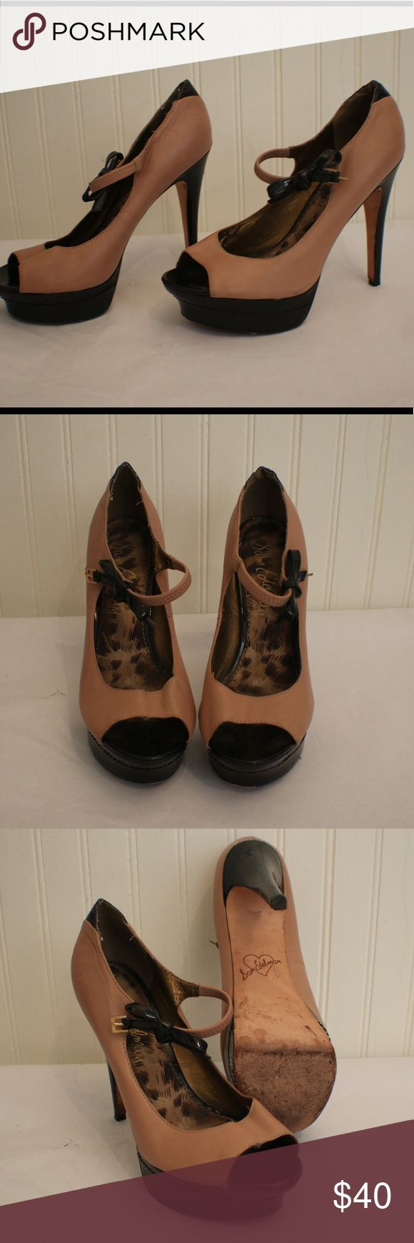 Sam Edelman Heels Mary Jane style heels in used condition. Extremely comfortable heels! Sam Edelman Shoes Heels