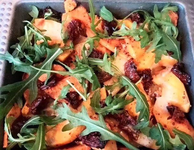 Clueless Culinary: Ovenschotel van zoete aardappel en flespompoen