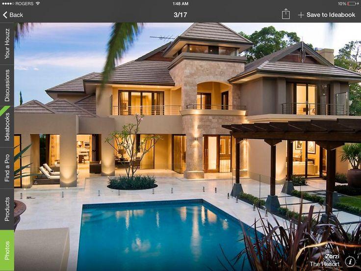 The 18 best Dream house ideas images on Pinterest   Arquitetura ...