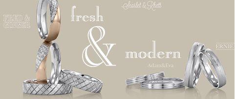 Trauringe hochzeit modern  Moderne Trauringe #Trauringe #Modern #Hochzeit | Engagement ...