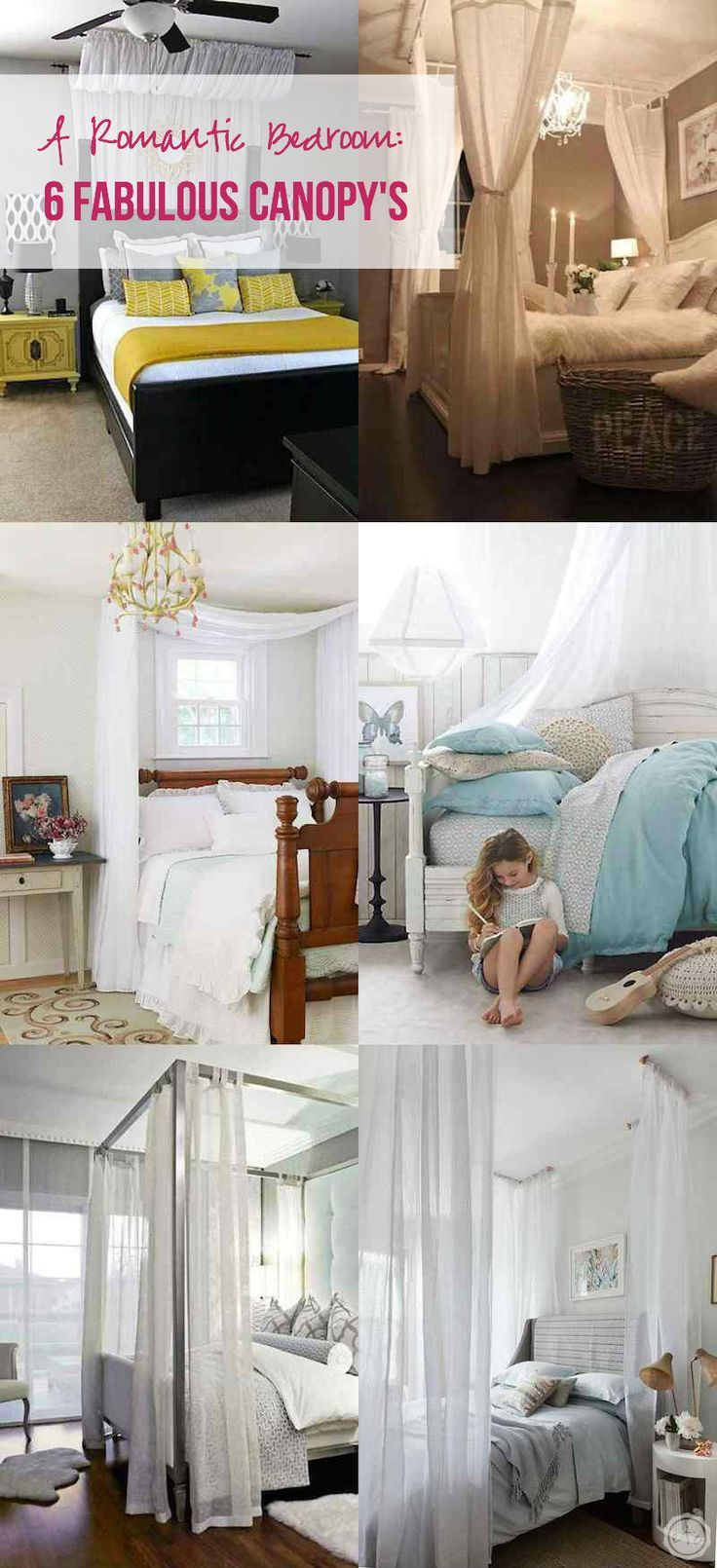 A Romantic Bedroom 6 Fabulous Canopy S Romantic Bedrooms And Diy Ideas