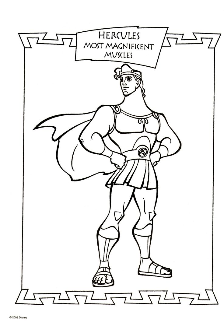 84 best Disney Hercules coloring pages Disney images on
