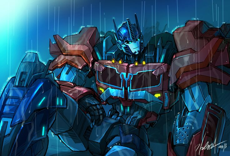 loneliness by GoddessMechanic.deviantart.com on @deviantART I WOULD KEEP HIM COMPANY ANY DAY! COME HERE.....OPTIMUS....O.O