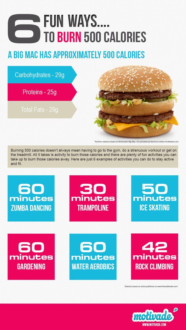 Burn 500 calories with 6 fun ways to exercise.