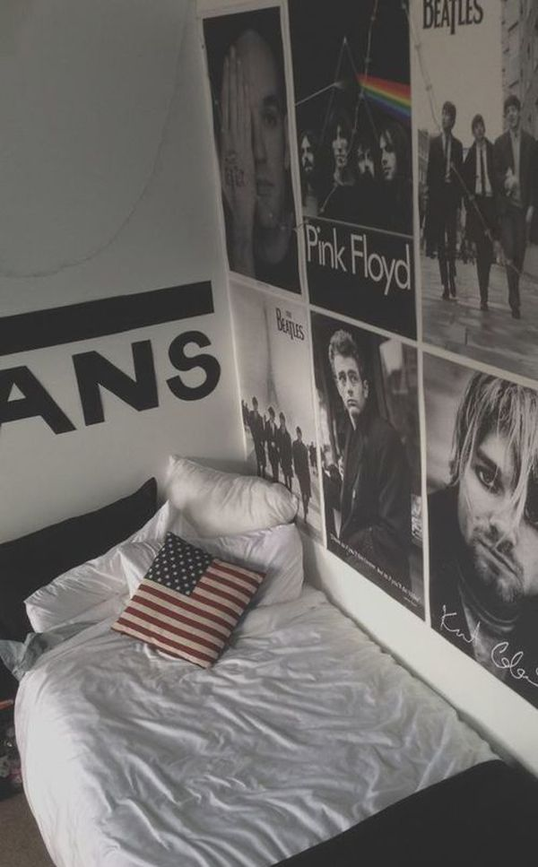 46 best Grunge Room images on Pinterest | Bedroom ideas ...