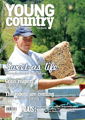 Work hard, play harder. Young Country entertains, informs and inspires with stories of people who live on the land or work with people who do. Online only at: http://youngcountry.farmersweekly.co.nz/?cat=217