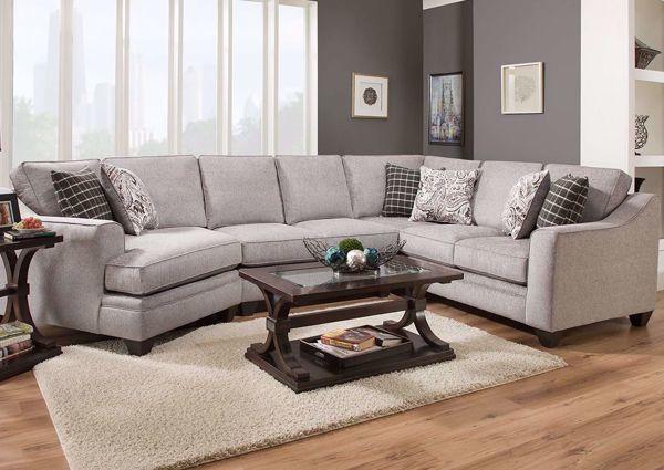 American Furniture Endurance Fog Sectional Sofa Sectional Sofa