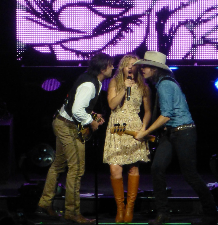 The Band Perry - my photo taken at the Brad Paisley concert Sept. 2012 in Tampa. Great show!
