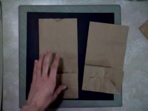 How To assemble a Paper Bag Album Pt 1 - http://www.jannbdesigns.com/