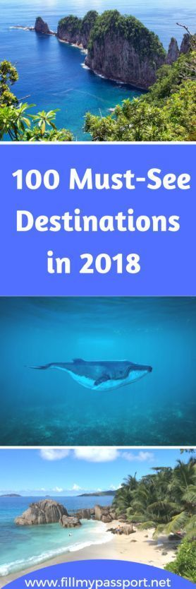 Check out our epic list of 100 places to go in 2018! Rarer spots combined with some of those iconic landmarks and destinations that all travellers should see in their lifetime. For me? Tonga definitely would be my top choice if possible! How about you? #bucketlist #travelwishlist #2018travels