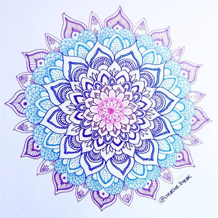 25 best ideas about colorful mandala tattoo on pinterest