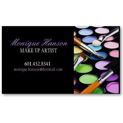 Make-Up Artist Business Cards