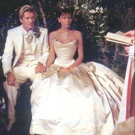 Свадьба Дэвида и Виктории Бекхэм
