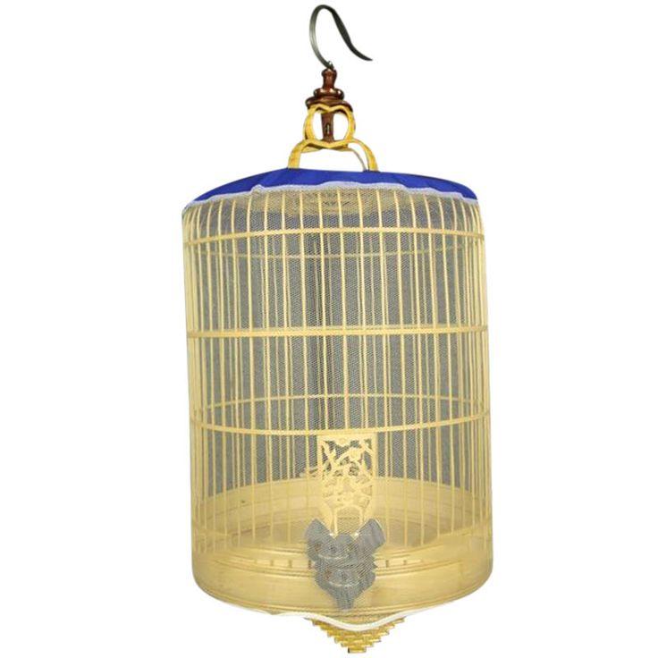 新しい到着メッシュ布鳥ケージカバー鳥キャッチャーオウムbudgieカナリアシェード布防塵減らすライトバードケージカバー