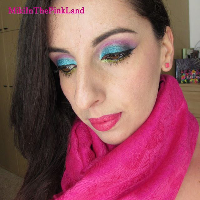 MikiInThePinkLand: Wham! Bam! VIVA GLAM! – Color Calls Colors (MAC Cosmetics Viva Glam Miley Cyrus 1 look) #ItalylovesVivaGlam
