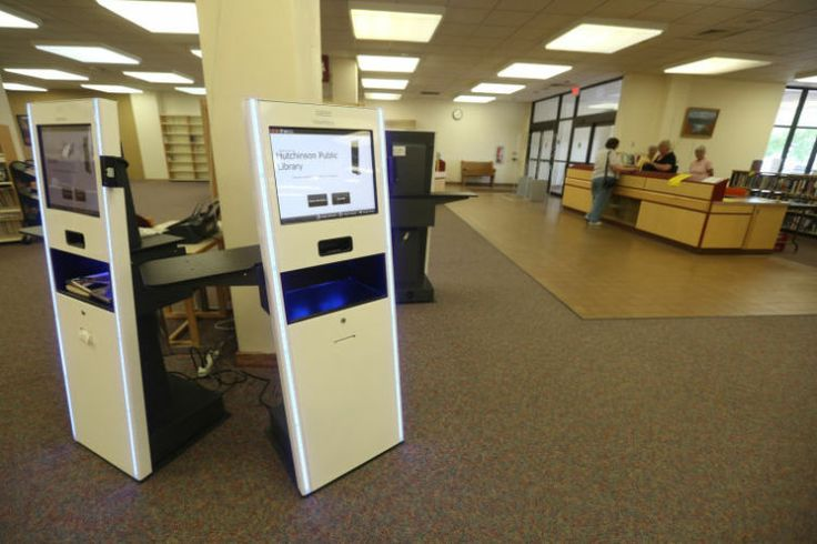 how to use library selfcheck system