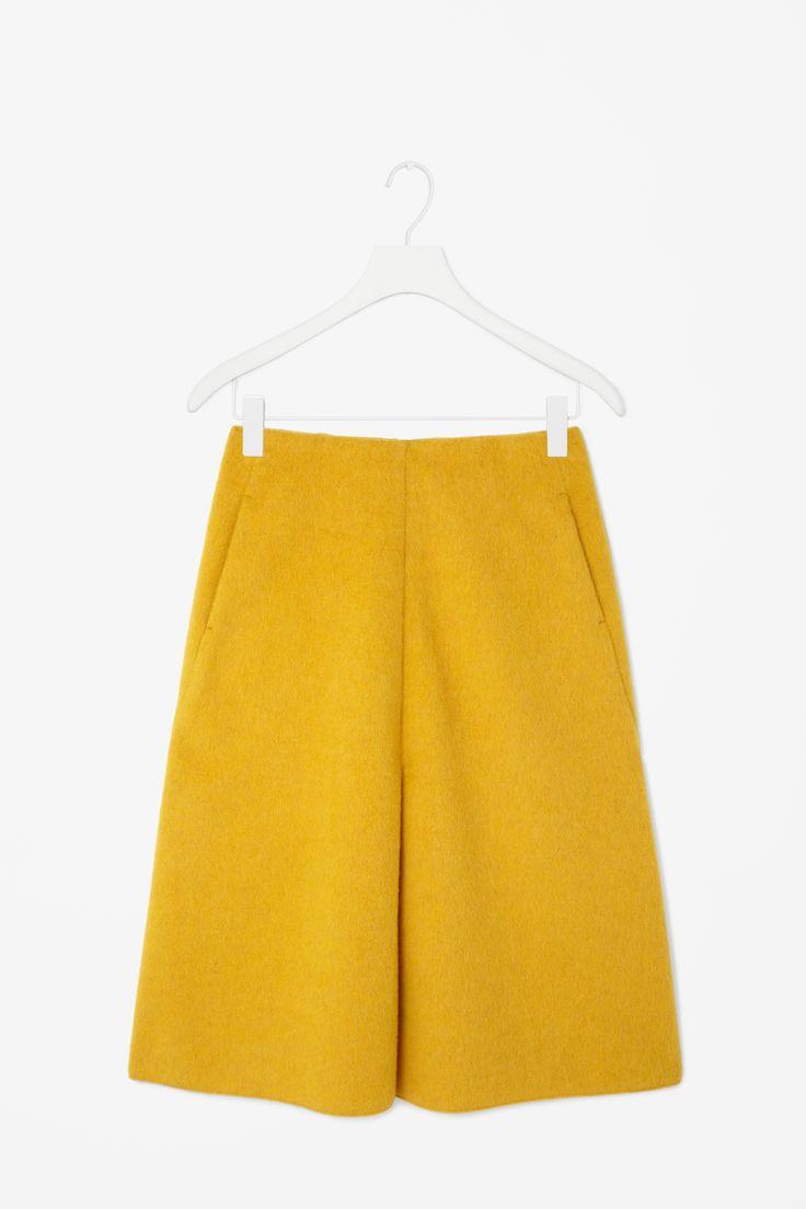Wool mohair skirt