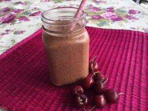 Choc Cherry Breakfast Smoothie