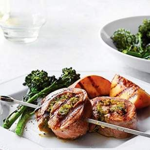 Pesto Pork Pinwheels