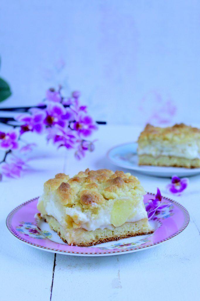 Streuselkuchen Mit Apfel Und Vanillecreme Food With Love Thermomix Rezepte Mit Herz Streusel Kuchen Streuselkuchen Streuselkuchen Apfel