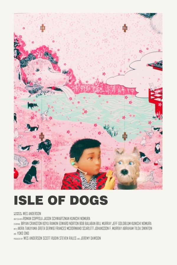 Isle Of Dogs Alternative Movie Poster Visit My Store Movie Poster Wall Film Poster Design Alternative Movie Posters