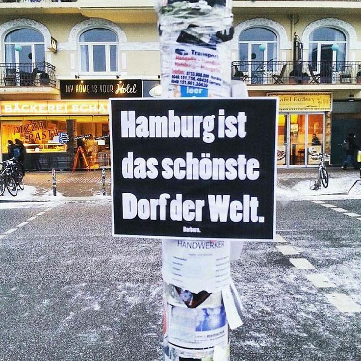 Hamburg ist das schönste Dorf der Welt <3