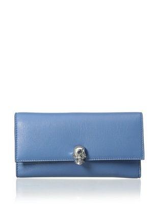 20% OFF ALEXANDER MCQUEEN Women's Continental Wallet, Blue