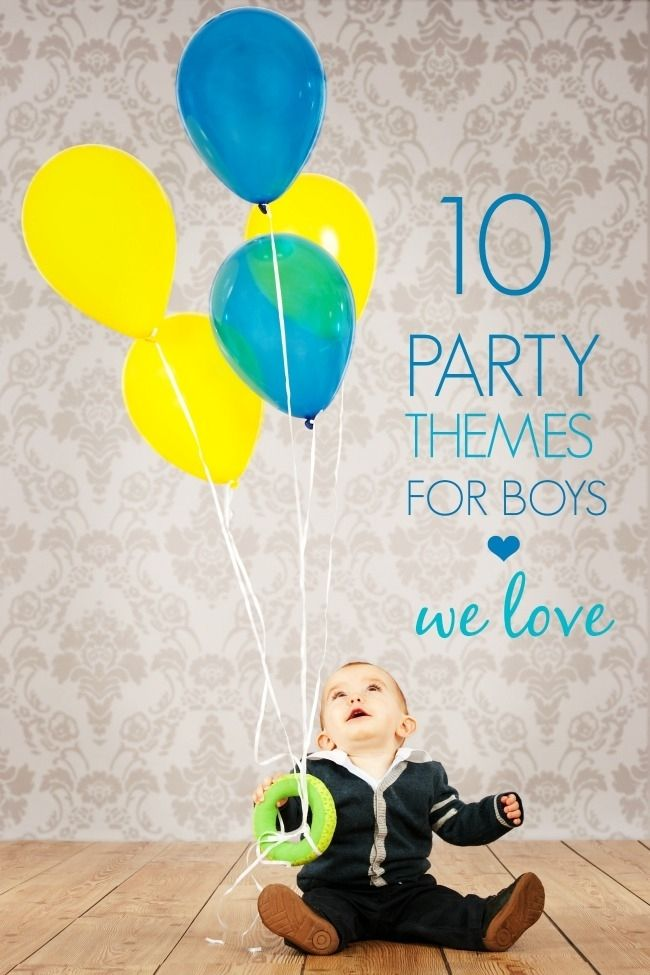 Boy Birthday Party Ideas and Supplies - Spaceships and Laser Beams