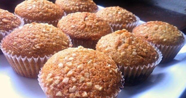 Mňaminka: Celozrnné muffiny s nutelou