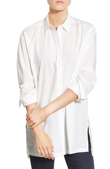 Madewell 'Streetview' Tunic Shirt available at #Nordstrom