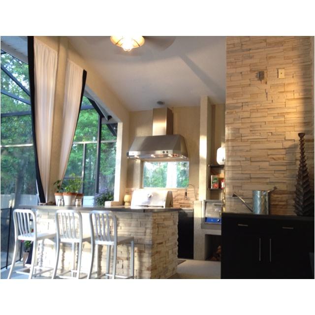 201 Best Outdoor Bar Area Images On Pinterest  Outdoor Ideas Entrancing Outdoor Kitchen Bar Designs Design Decoration