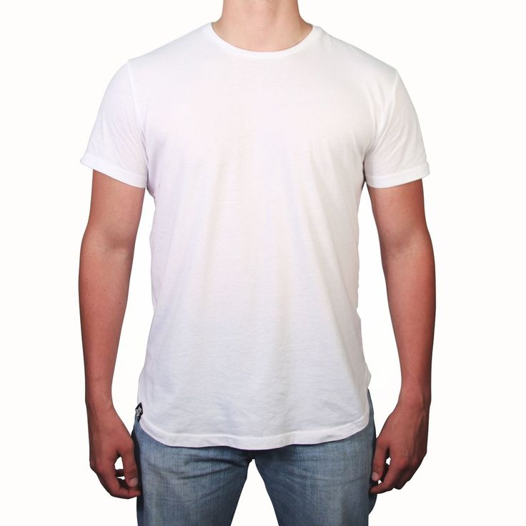 Scooped Tee - White - LD West