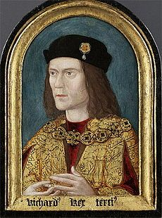 Richard III - Younger brother of Edward IV. He succeeded his nephew Edward V after having him declared illegitimate. He reigned from 1483 - 1485. He was the last English King killed in battle.