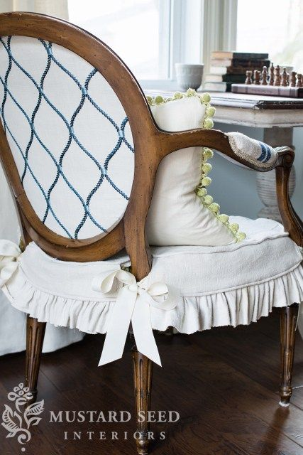 1000 Ideas About Dining Chair Slipcovers On Pinterest
