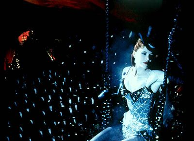 Moulin Rouge. I love everything about this movie... except for the fact that I still cry at the end.