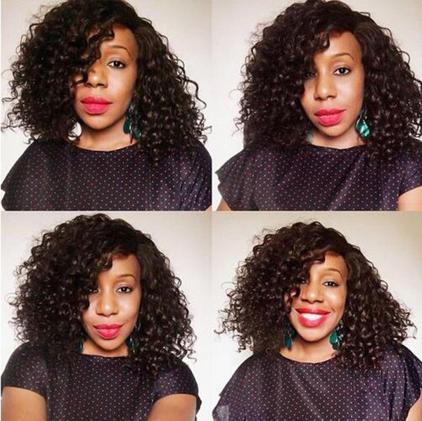 Short Human Hair Lace Front Wigs Curly Brazilian Remy Human Hair Front Lace Wigs Human Hair Wigs Wig Hairstyles Curly Bob Wigs