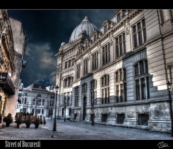 Street of Bucuresti by Dimityr Chobanov