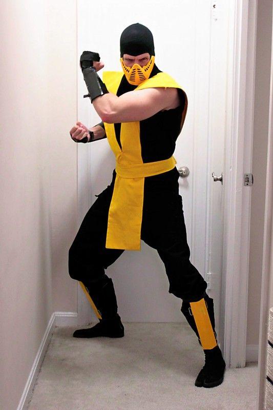 balaclava for mortal combat mask mortal kombat costumesstorm xmenparty costumeshalloween - Mortal Kombat Smoke Halloween Costume