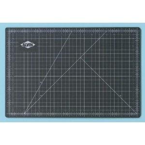 #6: Alvin Professional Cutting Mats Green/Black Size - 36L x 24W inches