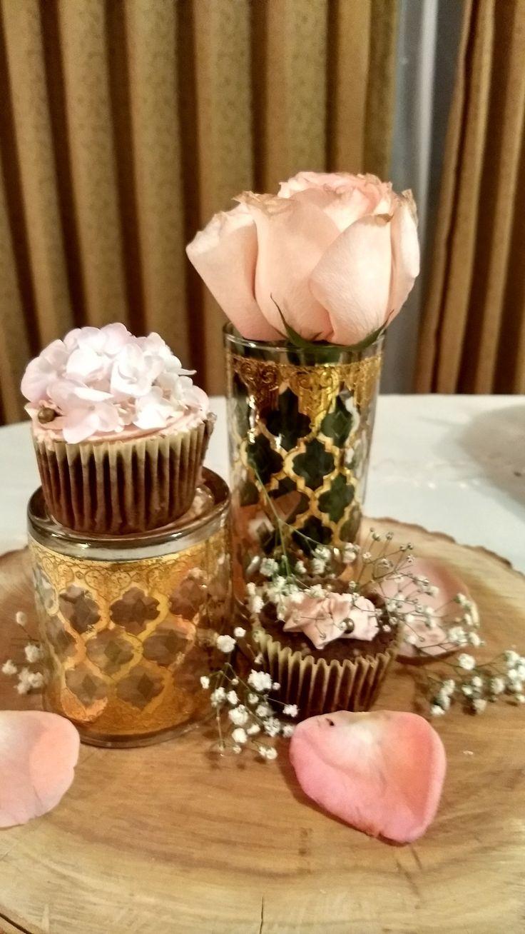 Cupcakes romántico