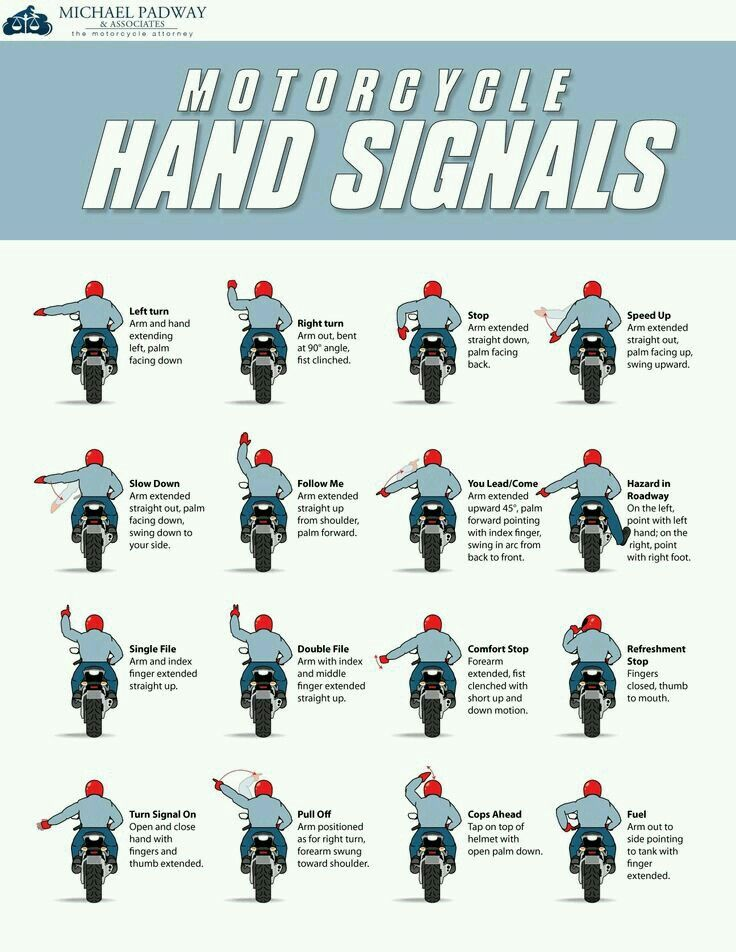 27 best cascos y motos images on pinterest hard hats wheels and motorcycle group riding hand signals although motorcycle hand gestures are something that most riders learn as part of their motorcycle license exams fandeluxe Gallery