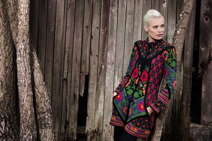 Kriss fashion. Multicolored cardigan. www.kriss.eu
