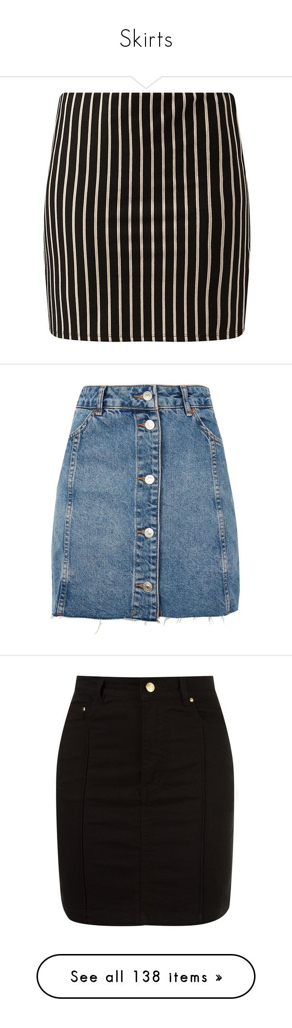 """""""Skirts"""" by selia-101 ❤ liked on Polyvore featuring skirts, mini skirts, faldas, bottoms, pinstripe skirt, body con skirt, bodycon skirt, camel mini skirt, pinstripe mini skirt and topshop"""