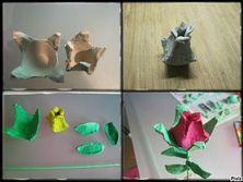 Blog de lesptitsloupsdenounou :les ptits loups de nounou, 'tulipes'boite a oeufs